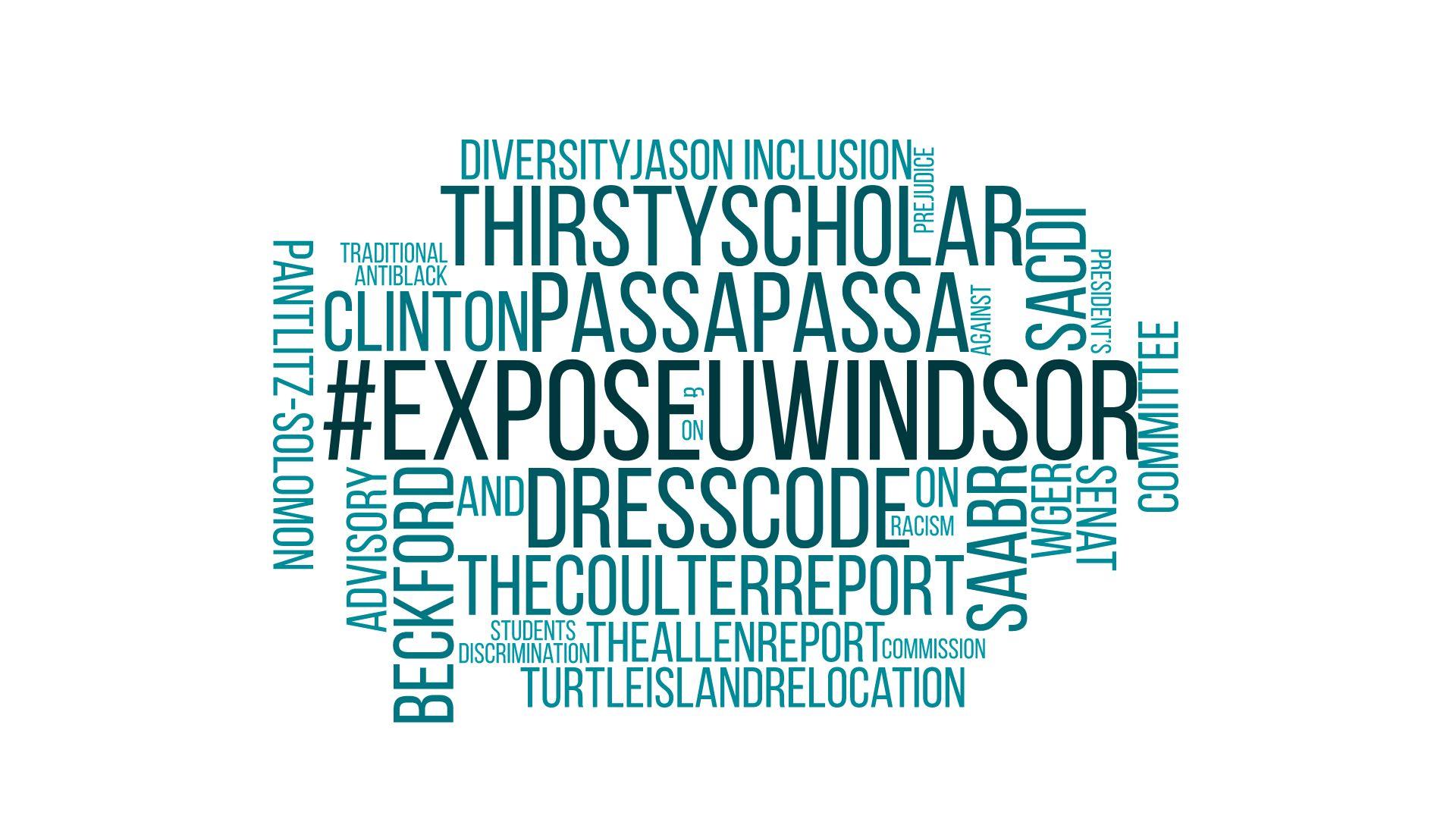 #ExposeUwindsor Danieli Arbex Ryan Flannagan Douglas Kneale